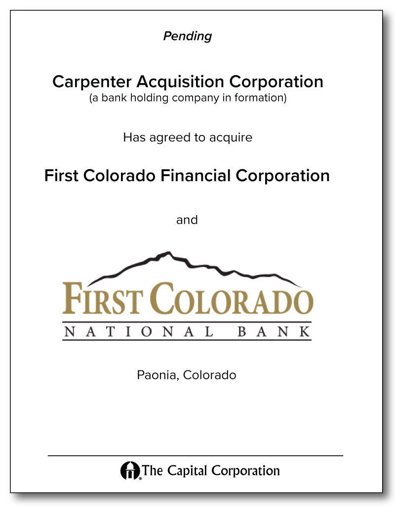 Carpenter - First Colorado