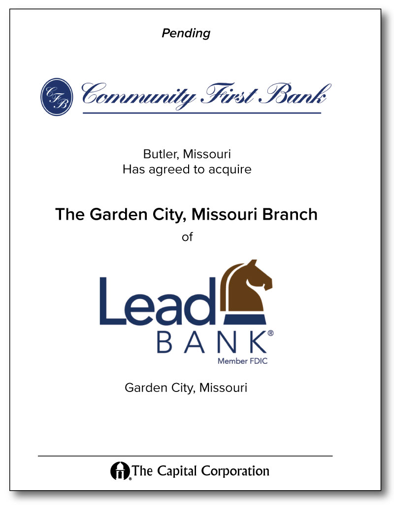 Community First Bank / Lead Bank