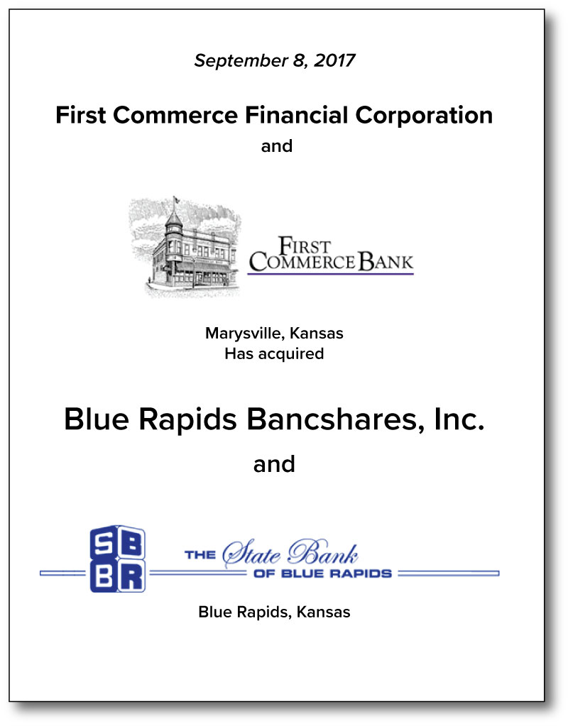 First Commerce Financial Corporation