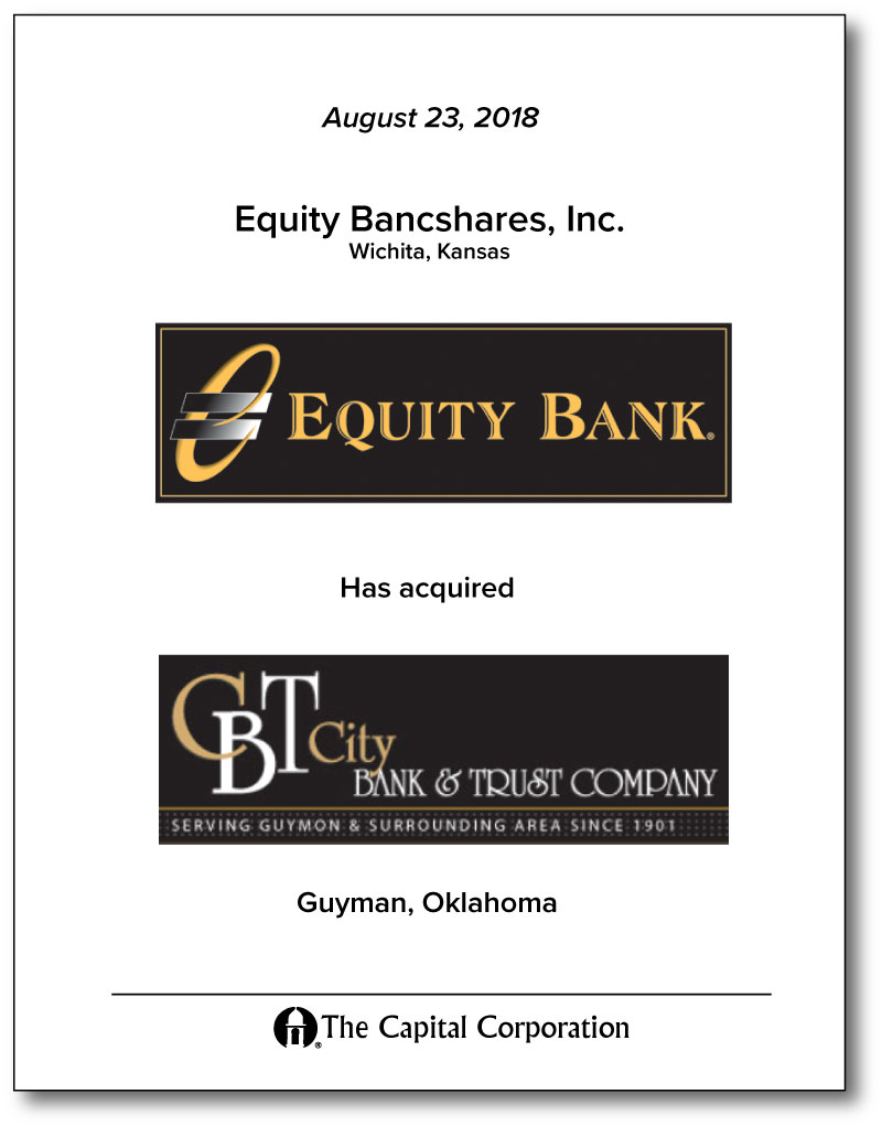 Equity Bancshares, Inc
