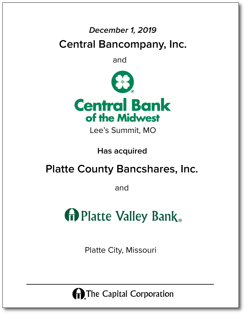 Central Bank / Platte Valley Bank
