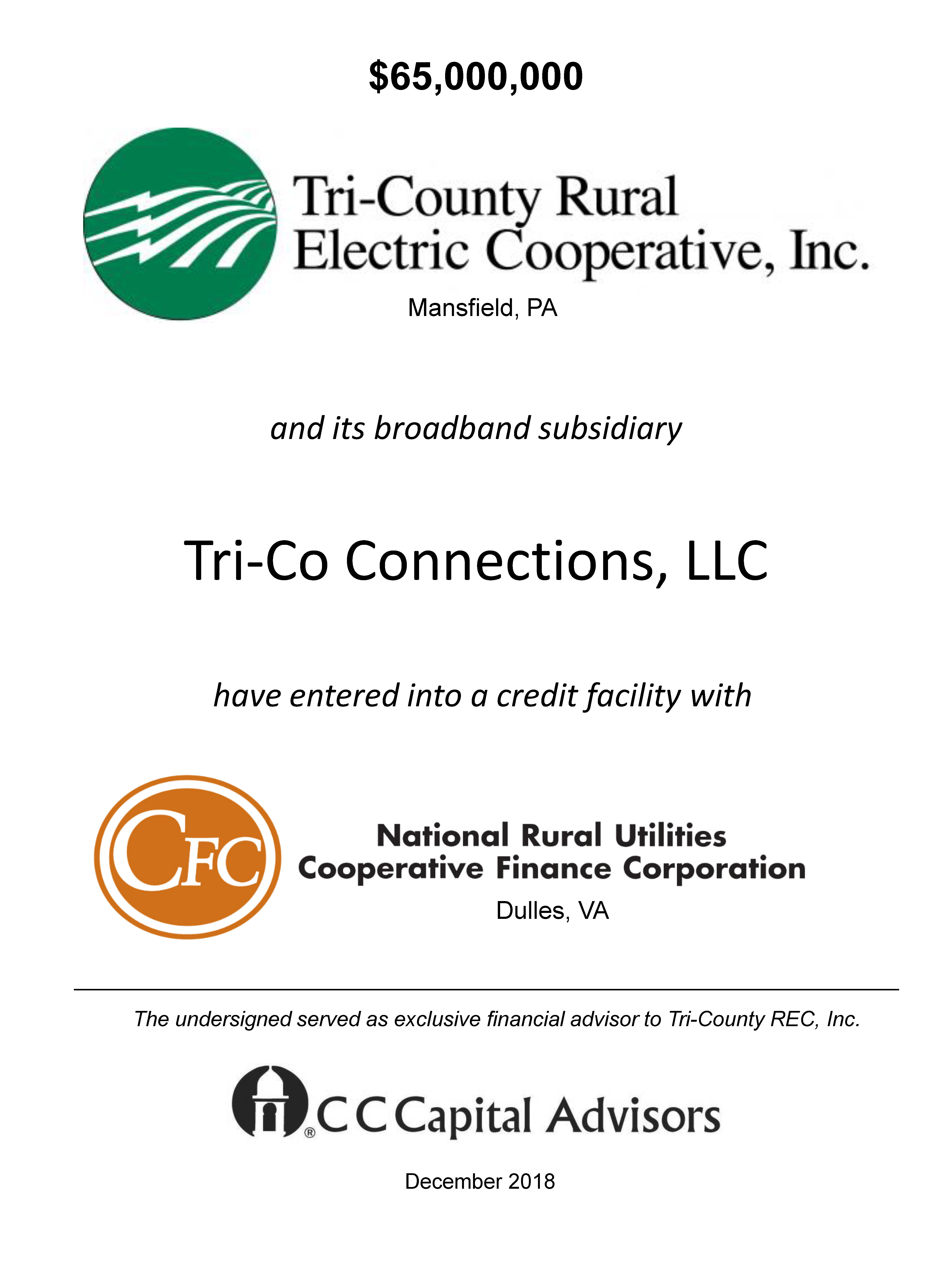 Tri-County Rural Electric Cooperative, Inc.