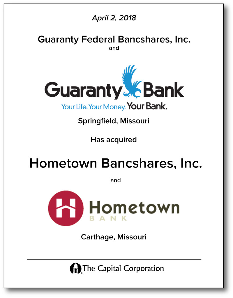 Guaranty Federal Bancshares, Inc