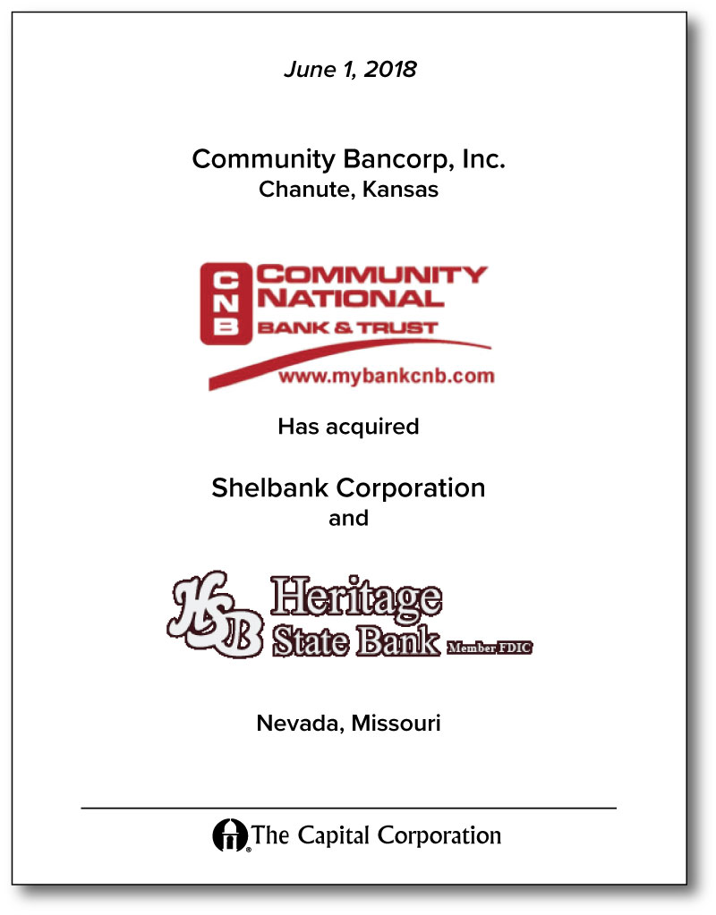 Community Bancorp, Inc.
