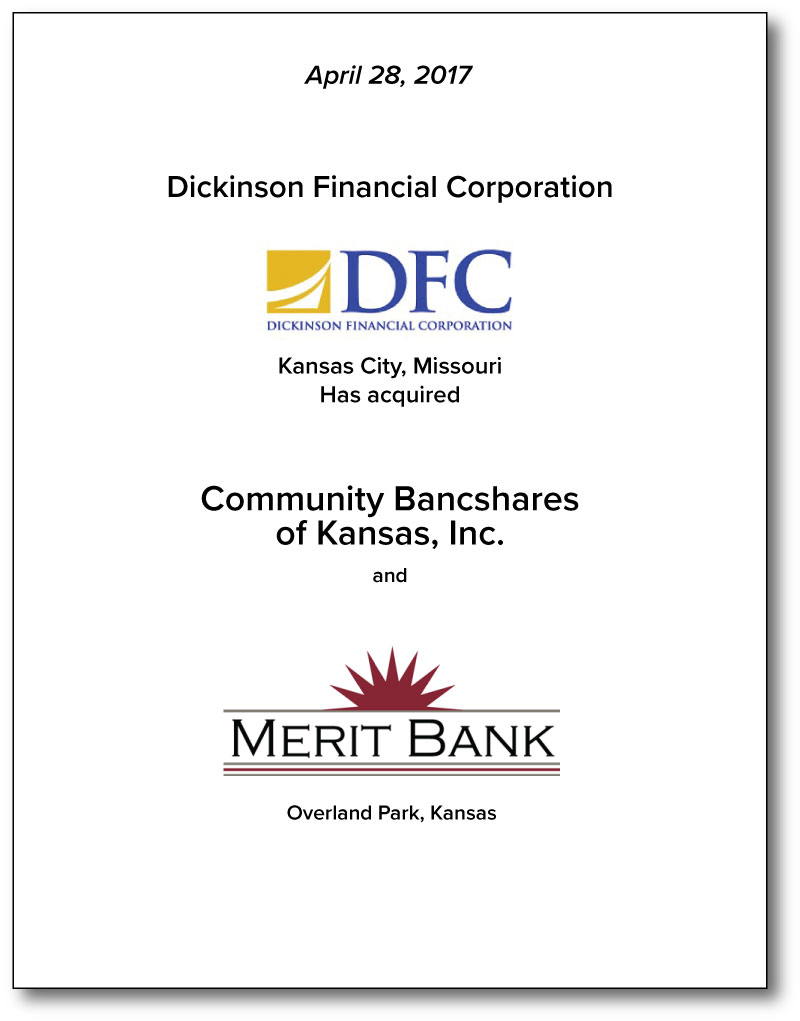 Dickinson Financial Corporation