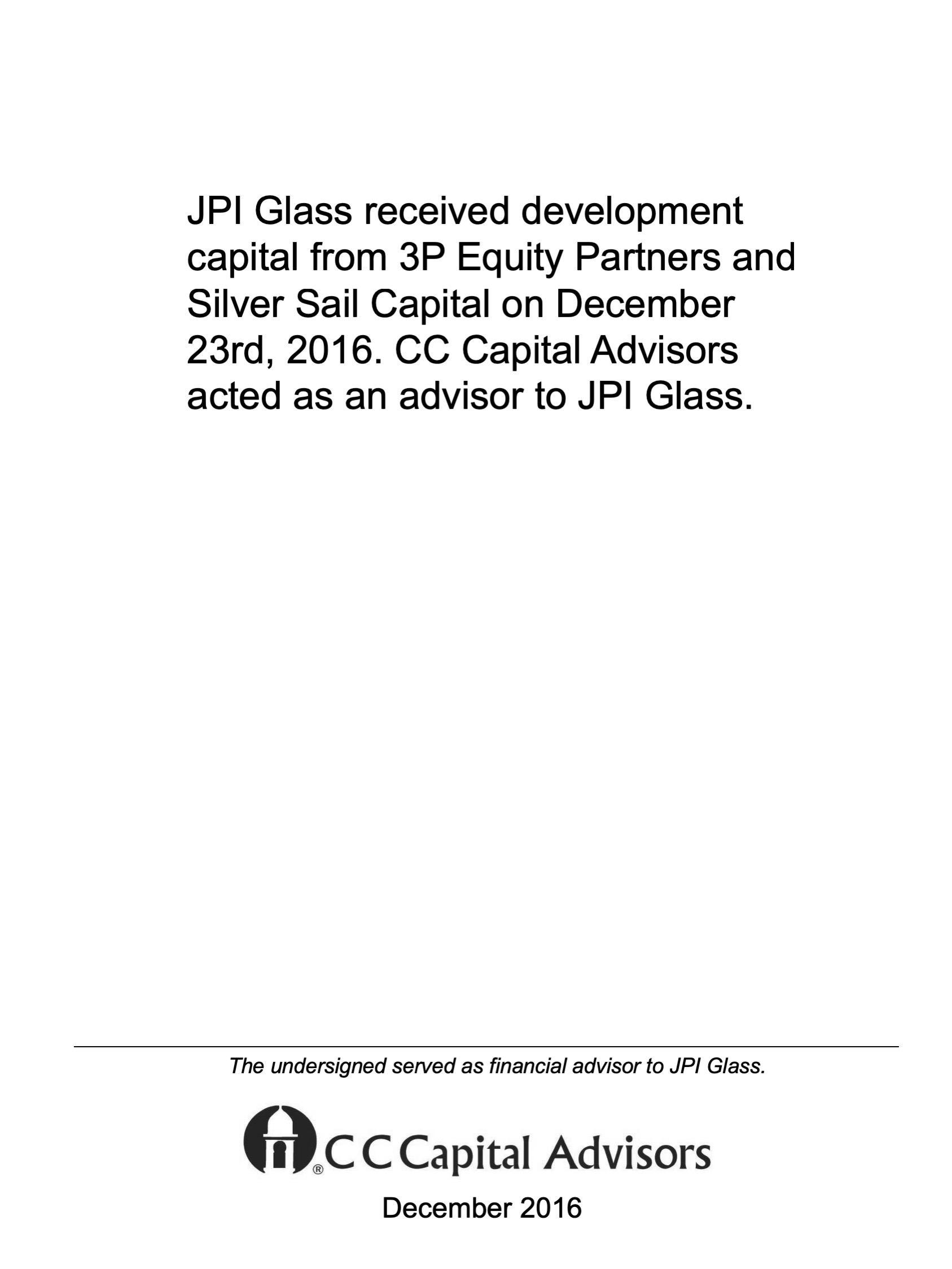 JPI Glass