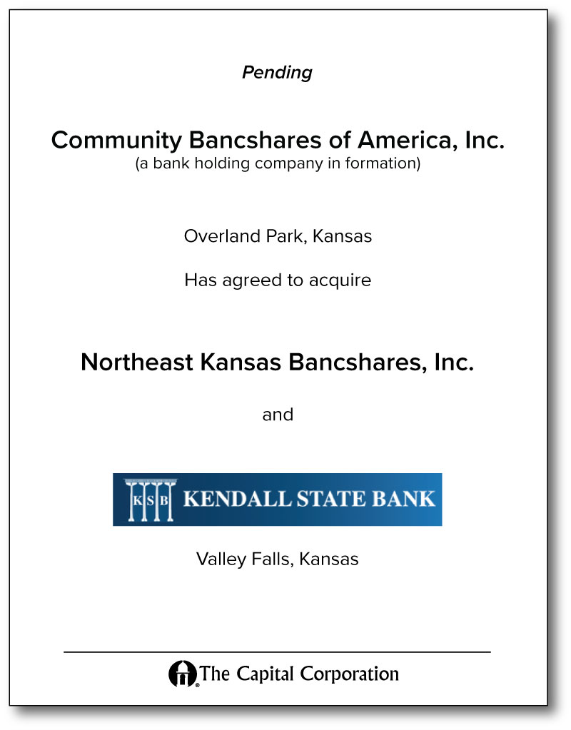 Northeast KS Bancshares